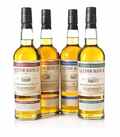 Mixed lot Glenmorangie