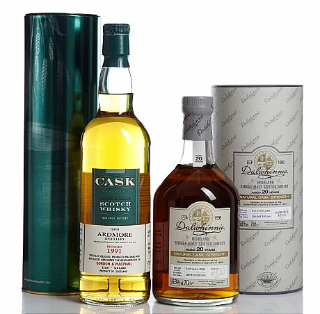 Mixed lot: Ardmore 1991 & Dalwhinnie 1986