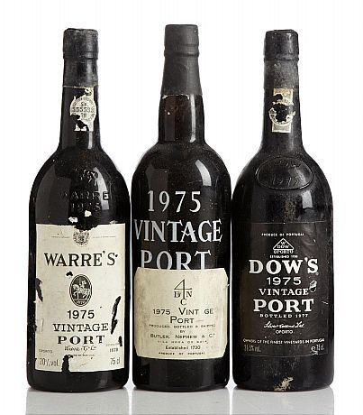 Mixed lot: 1975 Vintage Port