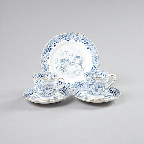 Kaffeservisdelar English Bone China