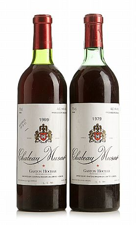 Mixed lot: Château Musar