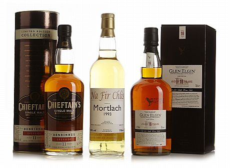 Mixed lot: Glen Elgin & Mortlach