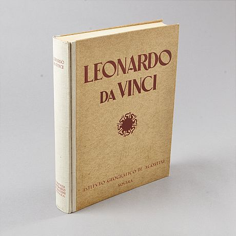 Richly illustrated monography on Da Vinci