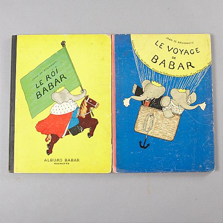 The first two books on Babar