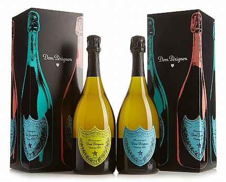 2002 Dom Pérignon Andy Warhol Tribute Collection