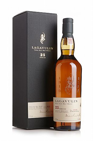 Lagavulin 25 Years Old Natural Cask Strength