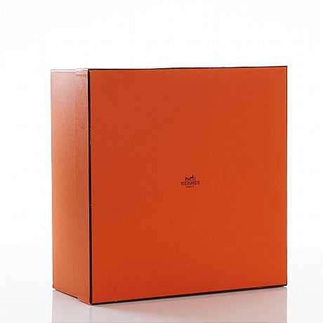 Hermès, Paris, box, orange