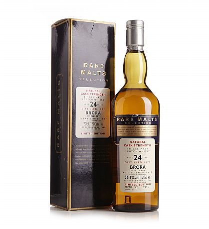 Brora 24 Years Old Cask Strength Limited Edition