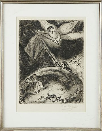 Marc Chagall etsning