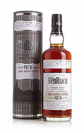 Benriach 1978 31 Years Old, Gaja Barolo Finished