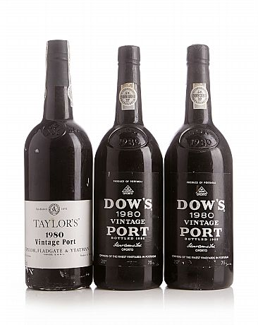 Mixed lot: 1980 Vintage Port