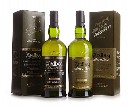 Mixed lot: Ardbeg Almost There  & Renaissance