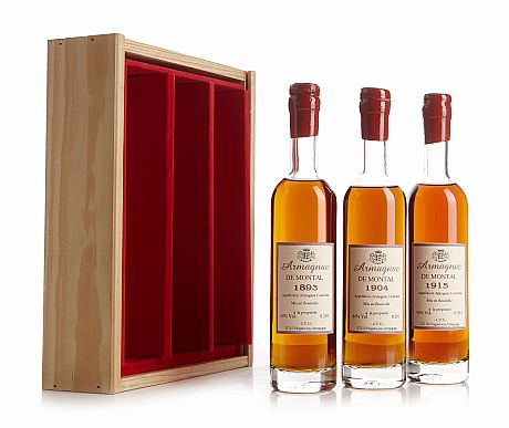 Mixed lot: Armagnac de Montal