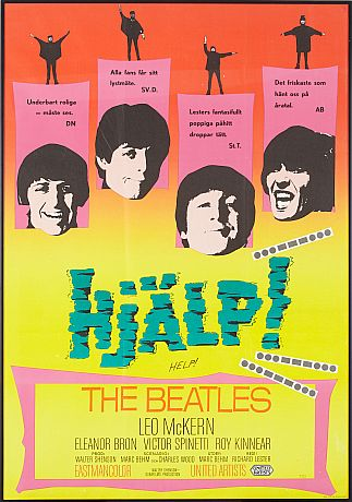 The Beatles Poster 1960-tal