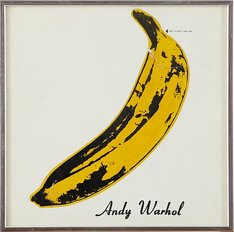 The Velvet Underground Unpeeled banana