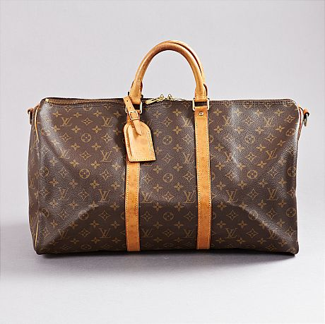 Weekendväska Louis Vuitton Keepall 50 Bandoulière