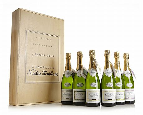 Mixed lot: 1996 Champagne Grand Cru, Feuillatte