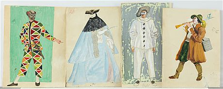 Various artists, Seven Theatrical Costume Designs