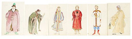 Various artists, Six Theatrical Costume Designs