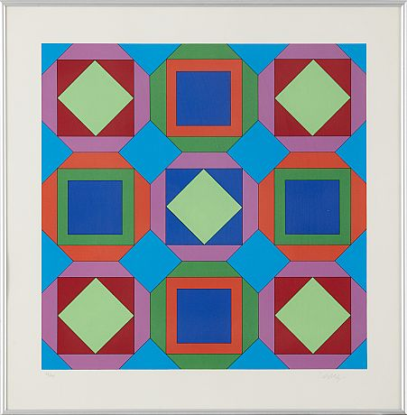 Victor Vasarely seriegrafi