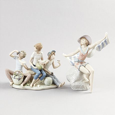 Figuriner i porslin Lladro