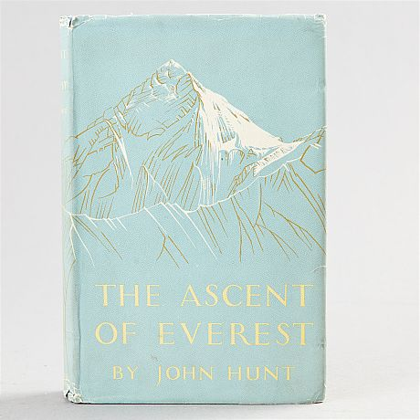 John Hunt The descent of Everest 1953