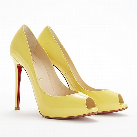 Christian Louboutin, pumps Flo 120 patent-leather