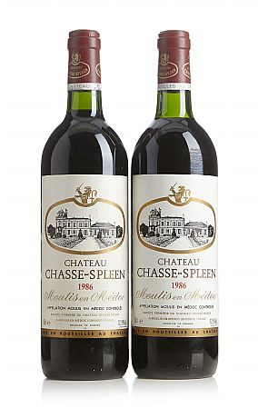 1986 Château Chasse-Spleen