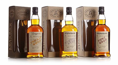 Mixed lot: Longrow & Springbank Wood Expressions