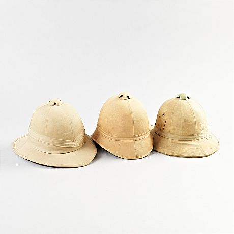 Pith helmet British Colonial