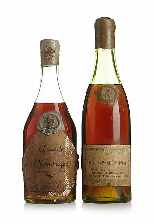 Mixed lot: 1940's-1950's Cognac Grande Champagne