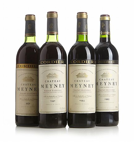 Auktion mixed lot ch teau meyney stockholms for Chateau meyney