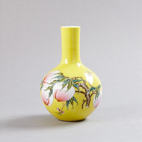 Peach Vase (Selected)