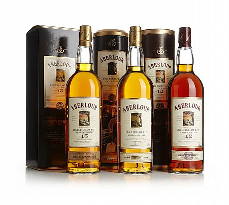 Mixed lot:  Aberlour Single Highland Malts