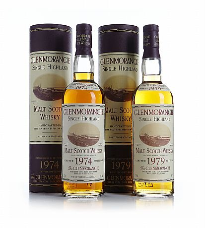 Mixed lot: 1974 & 1979 Glenmorangie Oak Casks
