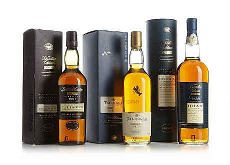 Mixed lot: Talisker & Oban