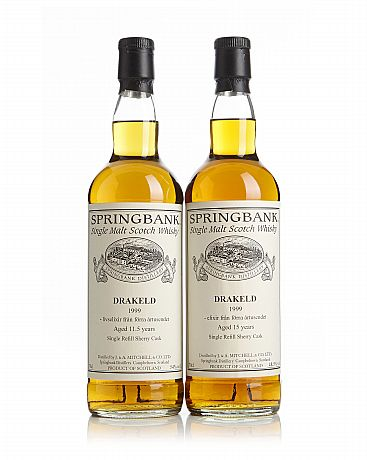 Mixed lot: 11,5 & 15 Years Springbank