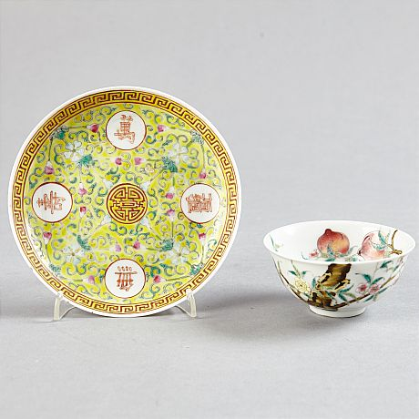 Two bowls and a dish (Selected)