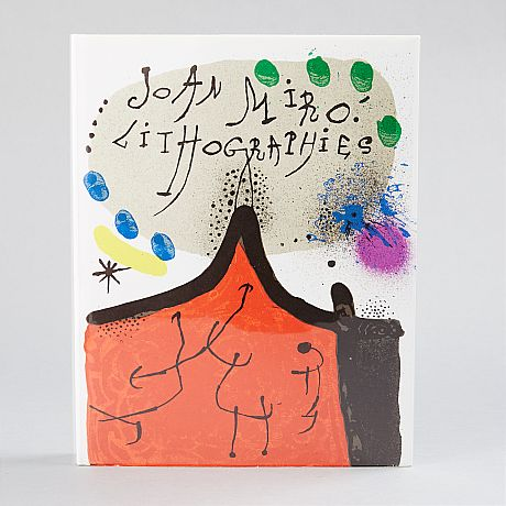 12 original lithographs by Miró