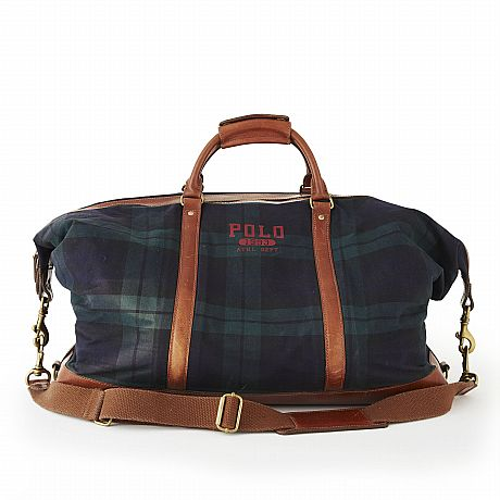 Polo Ralph Lauren, bag i skotskrutig black watch