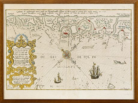 Waghenaer Coast of Norway 1590