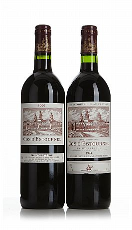 Mixed lot: Château Cos d'Estournel 1994/1999