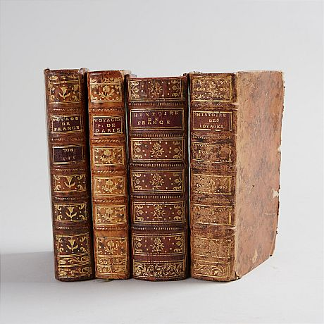 History, travels 18th century, 4 vol.