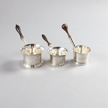 Brandy pans silver London