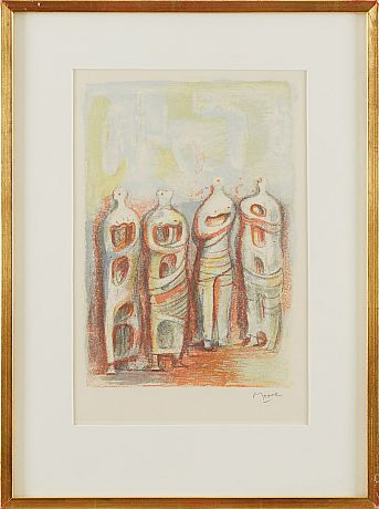 Henry Moore, The Four Sketches