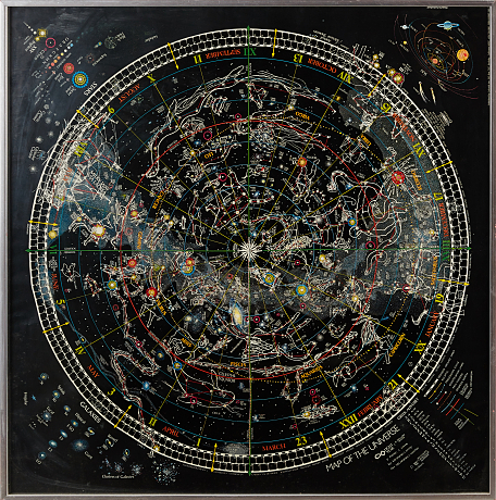 Map of the universe 1980
