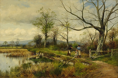 David Bates, Bullrushes Spring