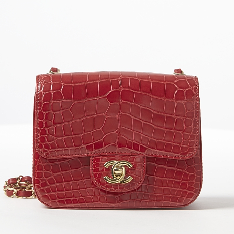 Chanel axelbandsväska Classic Flap Mini Square