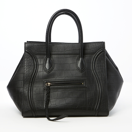 Céline handväska Medium Luggage Tote i svart