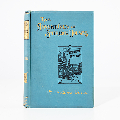 The Adventures of Sherlock Holmes, 2nd ed. 1893
